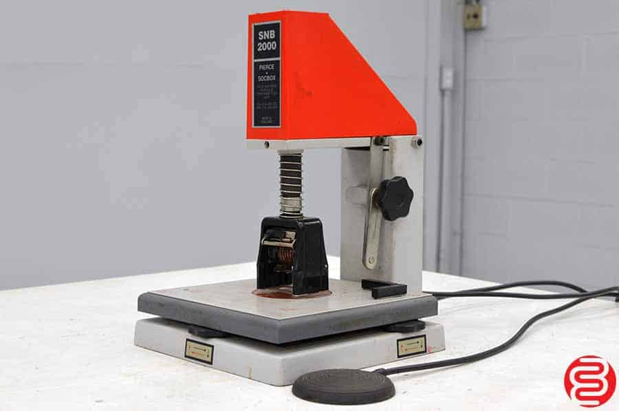 Pierce Socbox SNB 2000-HD Numbering Machine