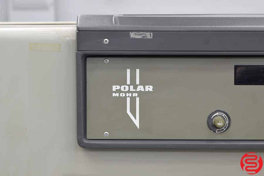 Polar 76 SD-P Paper Cutter w/ Power Back Gauge and Air Table