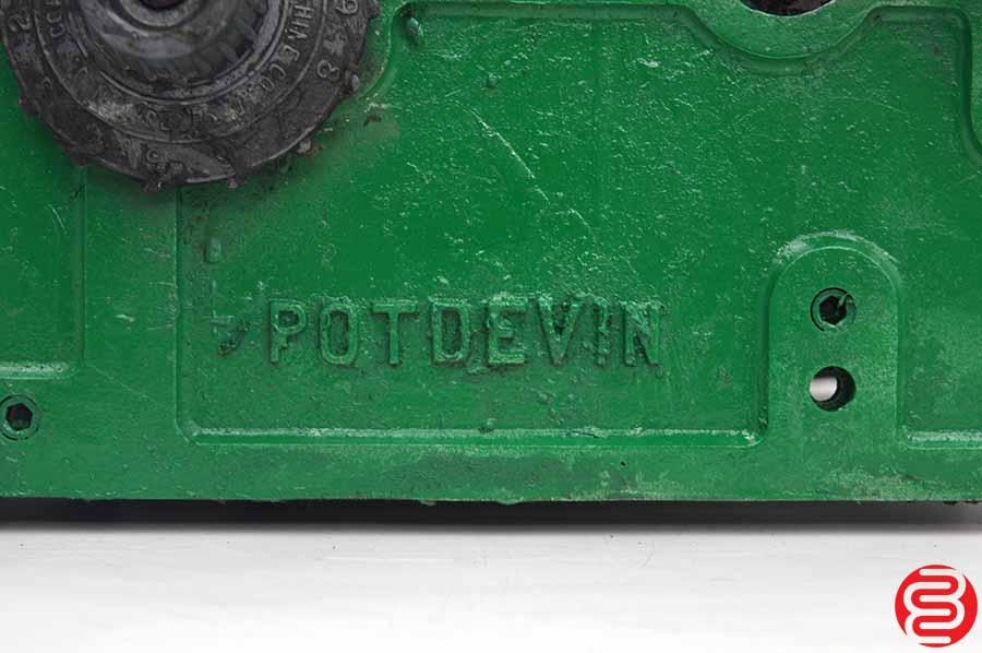 "Potdevin 12"" 2R Gluer"
