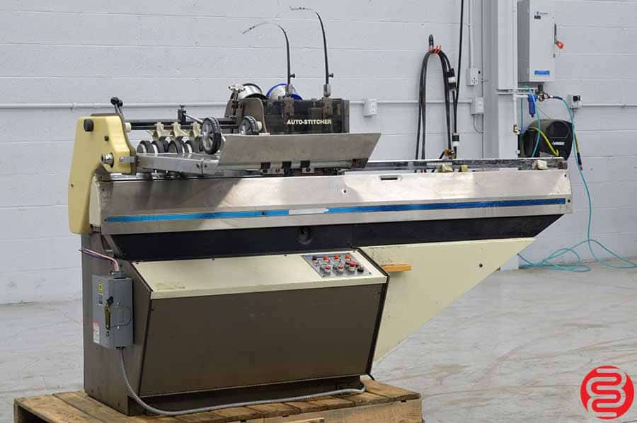 Rosback 203R Book Binding Saddle Stitcher