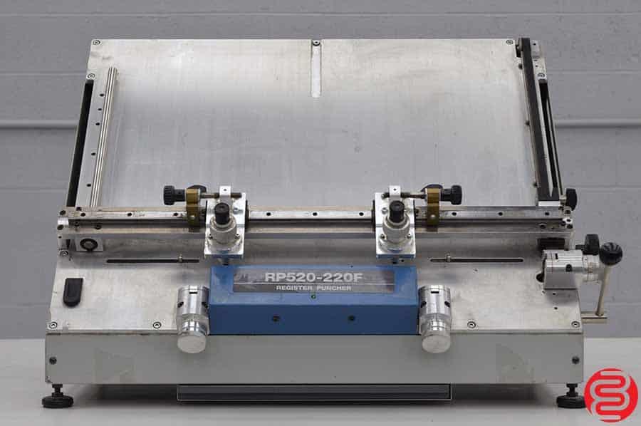 Ryobi RP520-220F Optical Register Punch