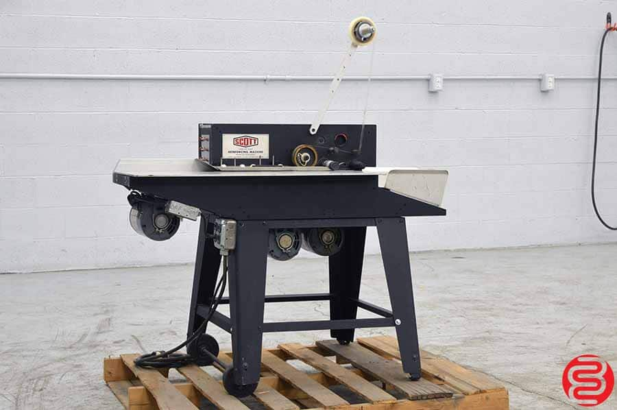 Scott Loose Leaf Sheet Reinforcing Machine
