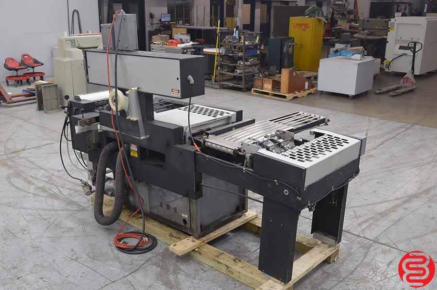 Scott Ten Thousand Automatic Plastic Index Tab Machine
