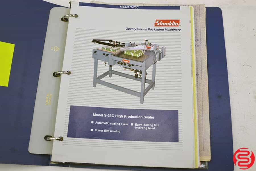 Shanklin S-23C High Production Sealer