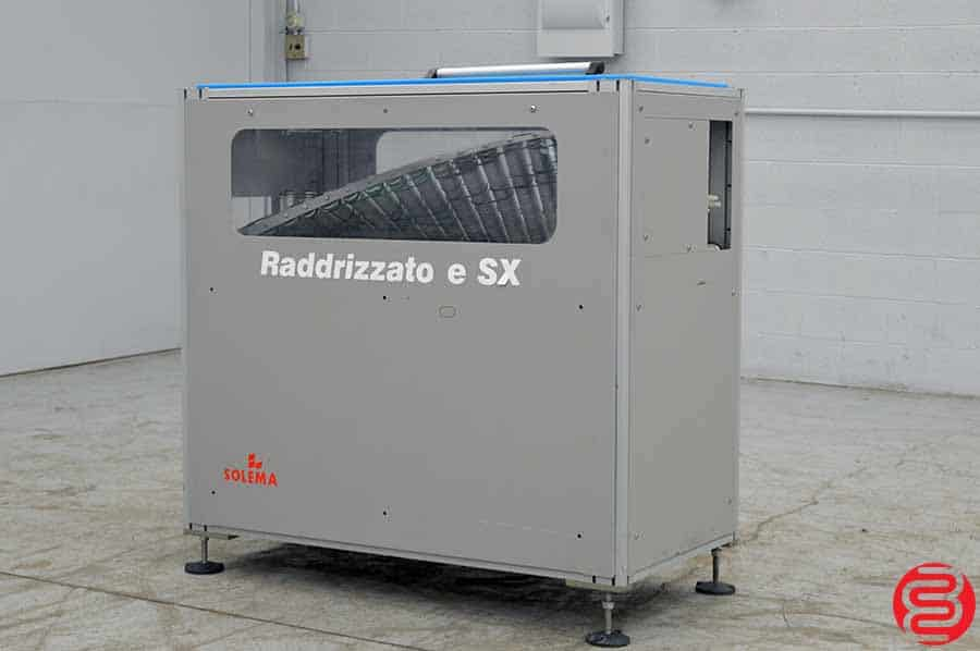 2003 Solema Raddrizzatore SX Lay-Down / Up-Right Machine