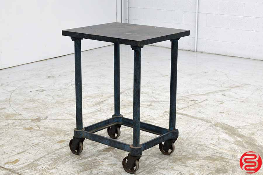 Steel Top Printer Turtle Table Cart