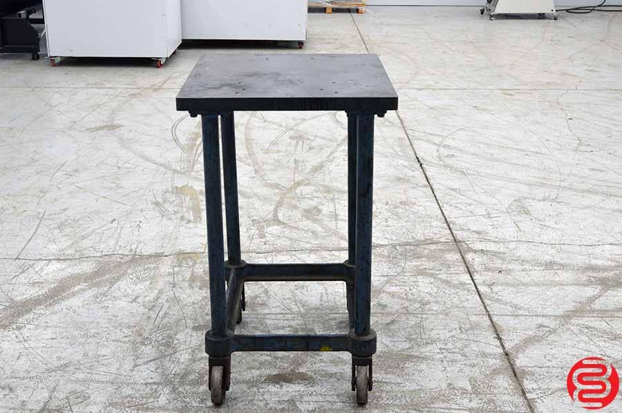 Steel Top Printer Turtle Table Cart
