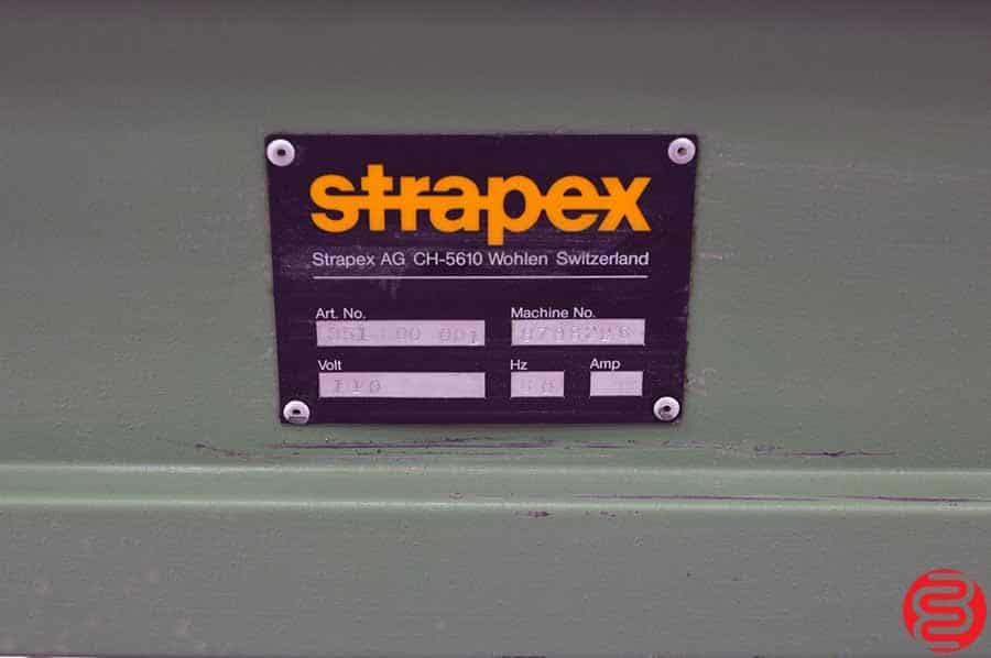 Strapex AG Semi-Automatic Strapping Machine