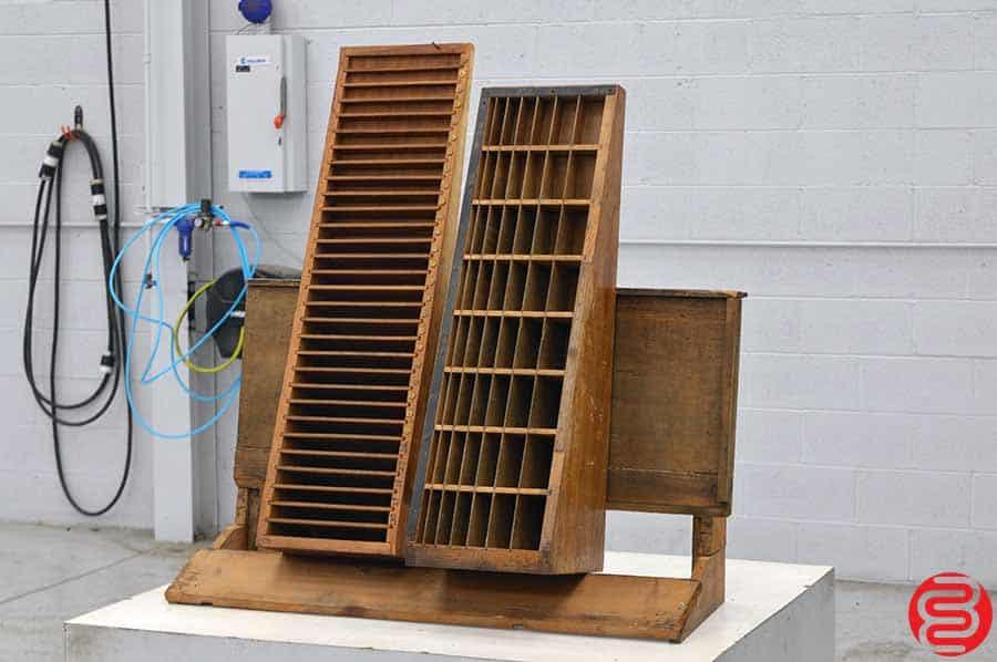 Thompson Furniture Cabinets w/ Assorted Wood Furniture