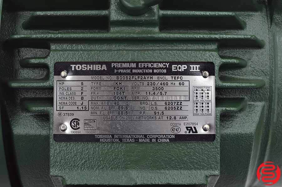 Toshiba Premium Efficiency EQP III 3-Phase Induction Motor