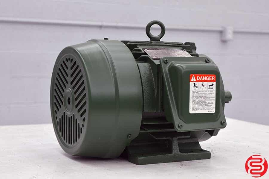 Toshiba Premium Efficiency EQP III 3-Phase Induction Motor
