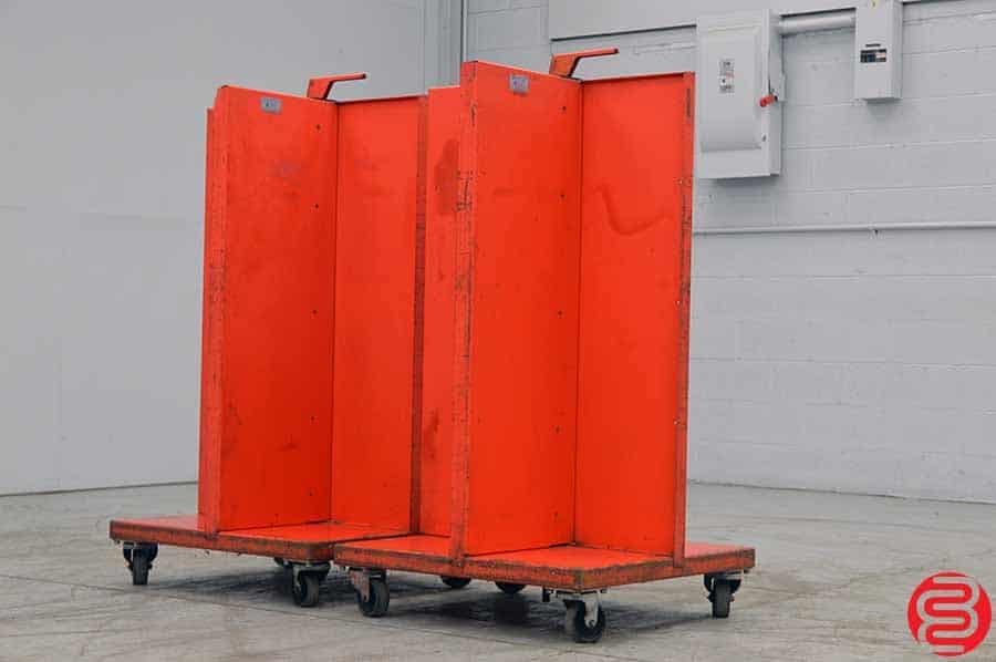 Two Kansa Quadracart Bindery Cart