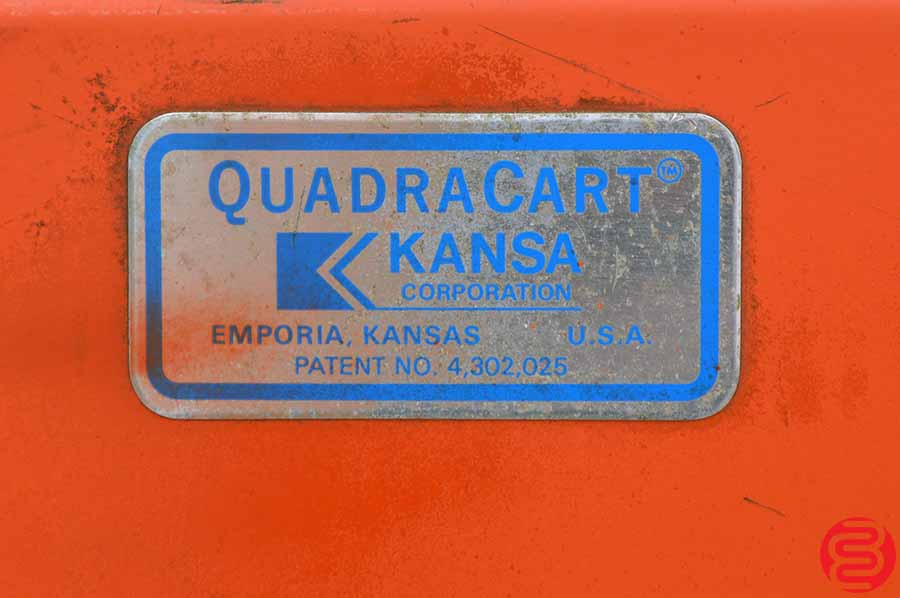 Two Kansa Quadracart Bindery Cart