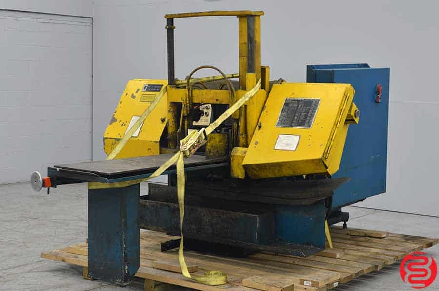 W.F. Wells and Sons Automatic Twin Post Band Saw