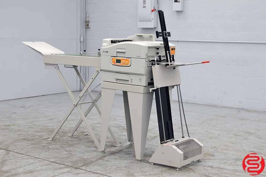 2010 Xante Ilumina Digital Envelope Press w/ Feeder and Conveyor