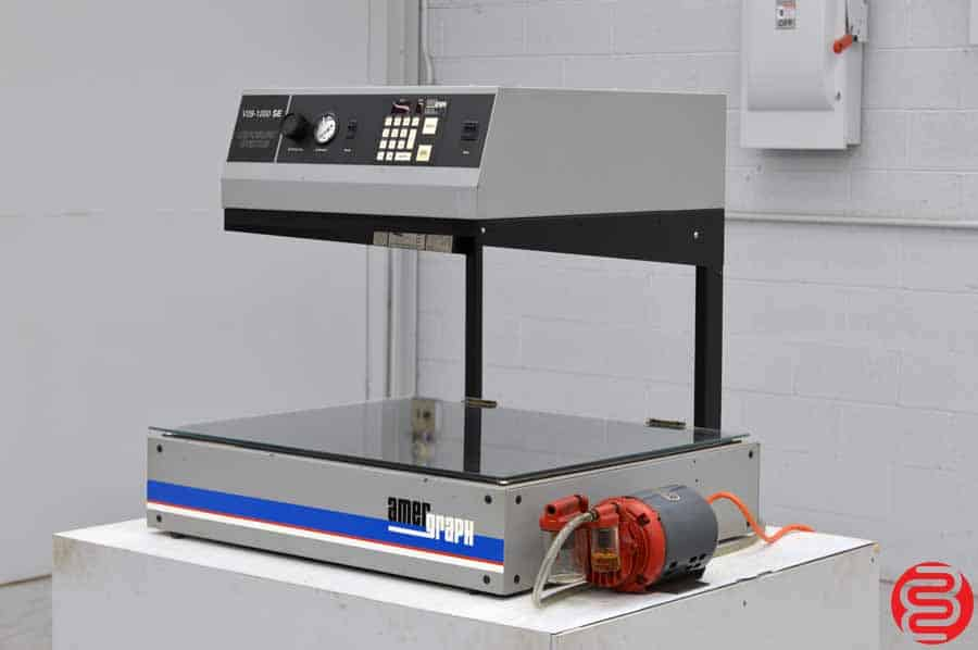 AmerGraph V28 1200 Watt Table Top Imaging System