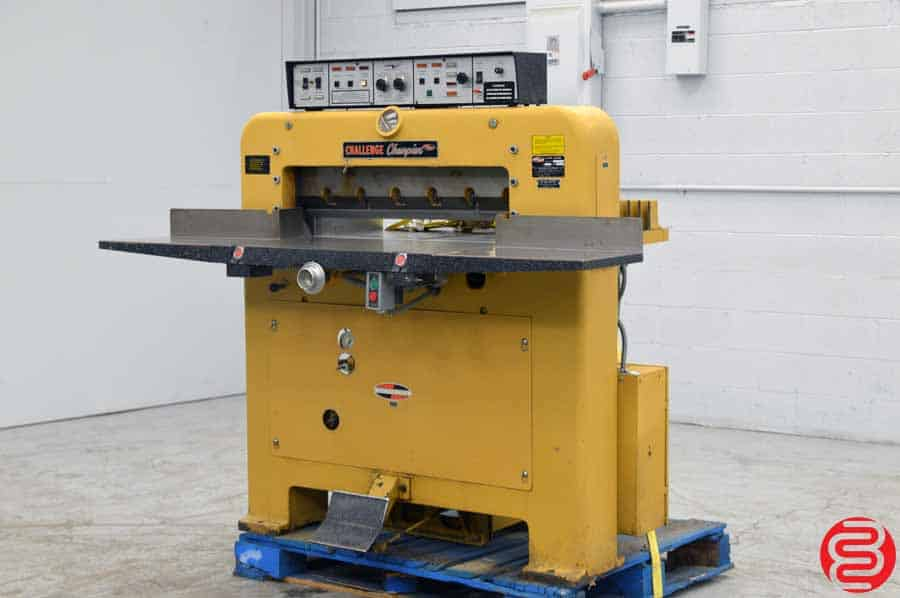 "Challenge 305 MCM 30.5"" Hydraulic Paper Cutter"