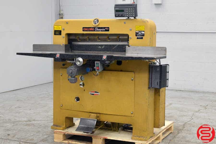 """Challenge 305 MCM 30.5"""" Hydraulic Paper Cutter"""