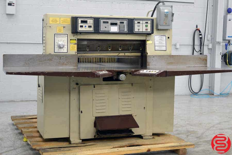 """Challenge 370 TCM Programmable Hydraulic 37"""" Paper Cutter"""