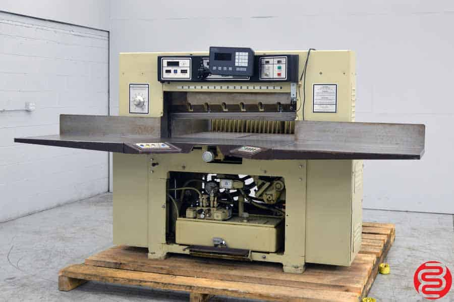 "Challenge 420 TCM Programmable Hydraulic 42"" Paper Cutter w/ MicroCut Jr"
