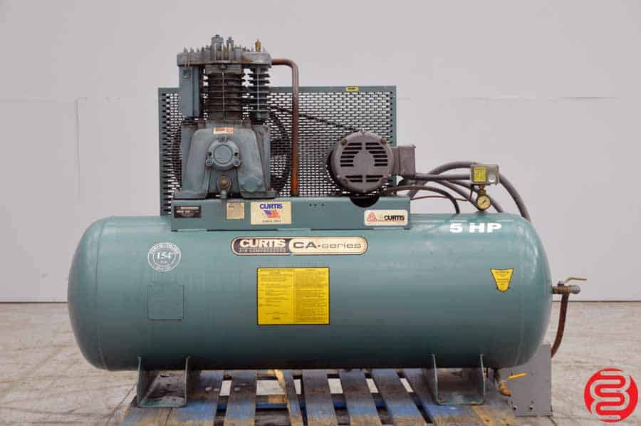 Curtis E-57A 80 Gallon 5 HP Air Compressor