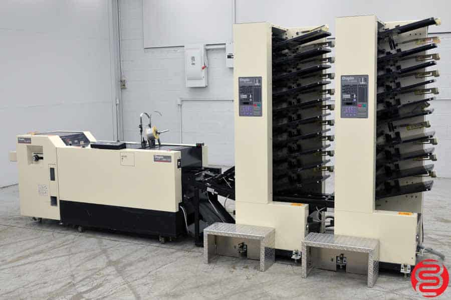 Duplo DBM-200 Booklet Making System w/ Trimmer and Collators
