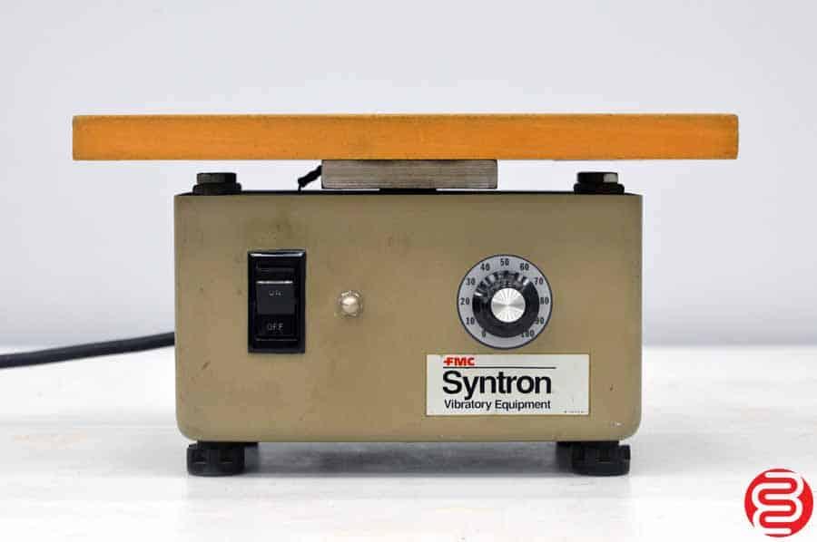 FMC Syntron J-1 B Flat Top Paper Jogger