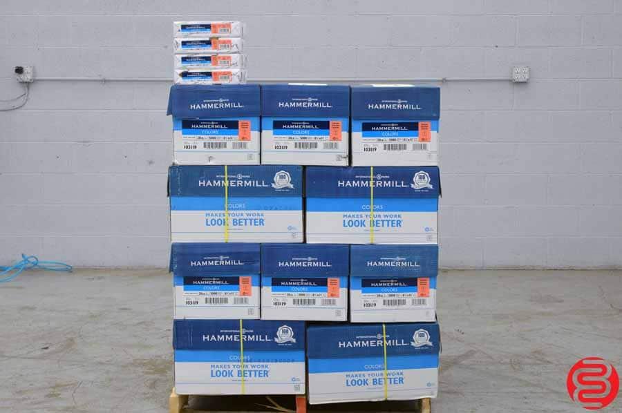 Hammermill 20 lb Salmon 8.5 x 11 Paper - Qty 30 Cases