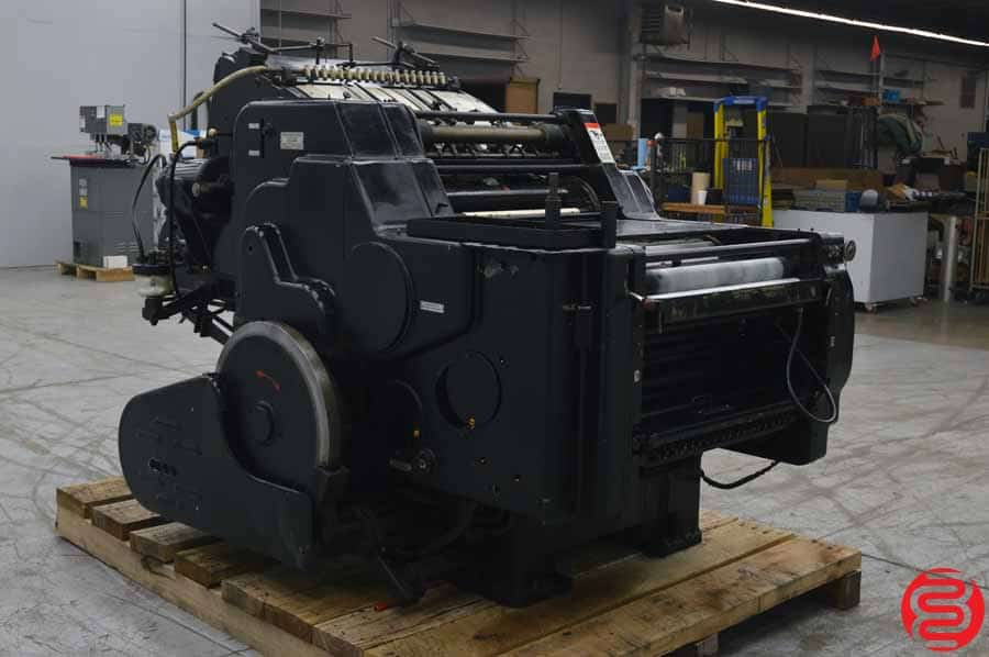 "Heidelberg KORD 18"" x 24 1/2"" Offset Printing Press"