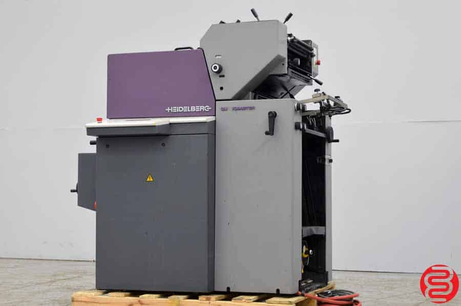 1998 Heidelberg Quickmaster QM 46-2 Two Color Printing Press