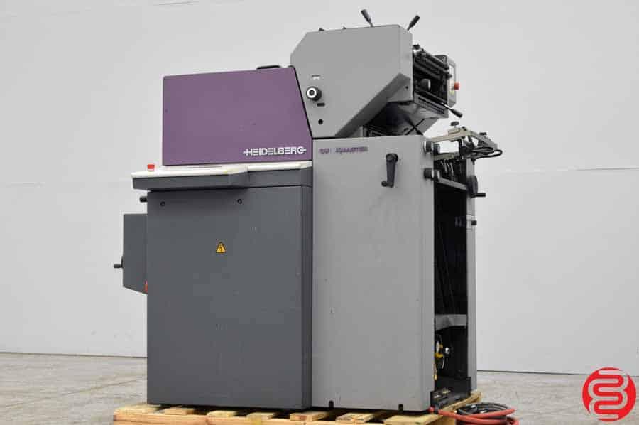 1998 Heidelberg Quickmaster QM 46-2 Two Color Printing Press