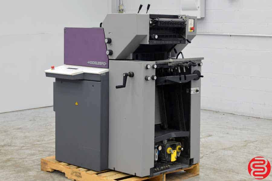 1999 Heidelberg Quickmaster QM 46-2 Two Color Printing Press