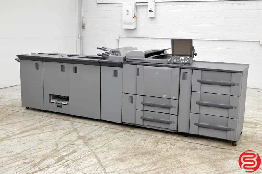 2006 Konica Minolta bizhub PRO 1050e Black and White Digital Press