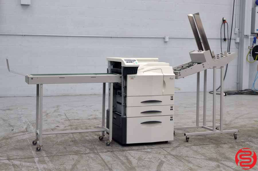 Kyocera Ecosys FS-9500DN Monochrome Digital Press w/ Envelope Feeder and Conveyor