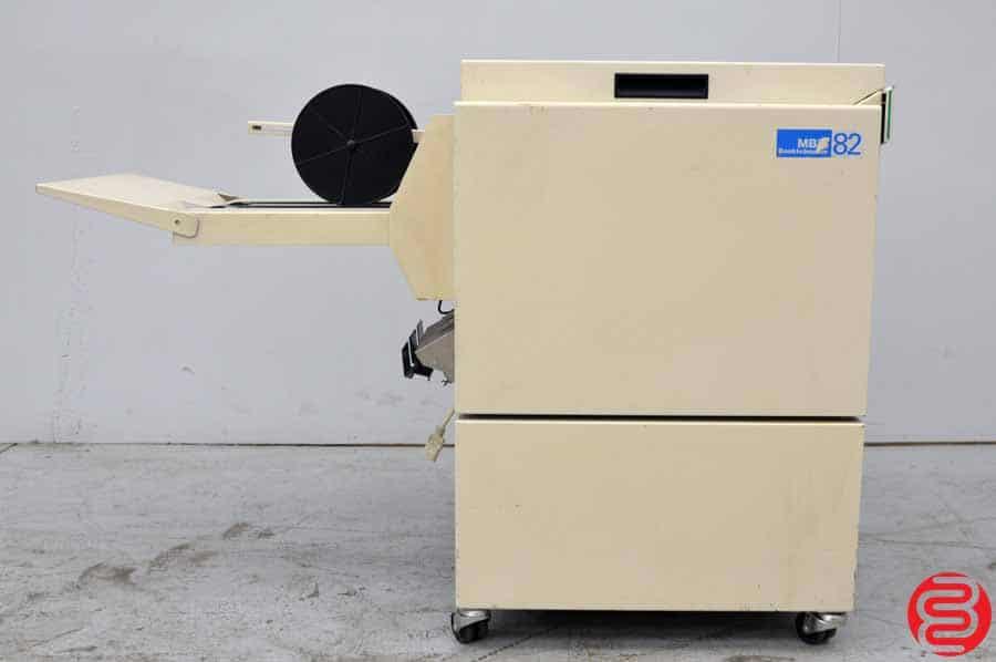 2003 MBM Plockmatic PL 82 Folder Stapler Bookletmaker