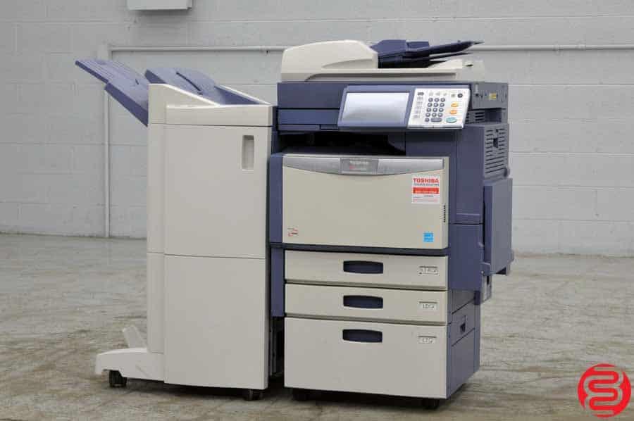 2012 Toshiba E-Studio 3540C Color Digital Press w/ Finishing Unit