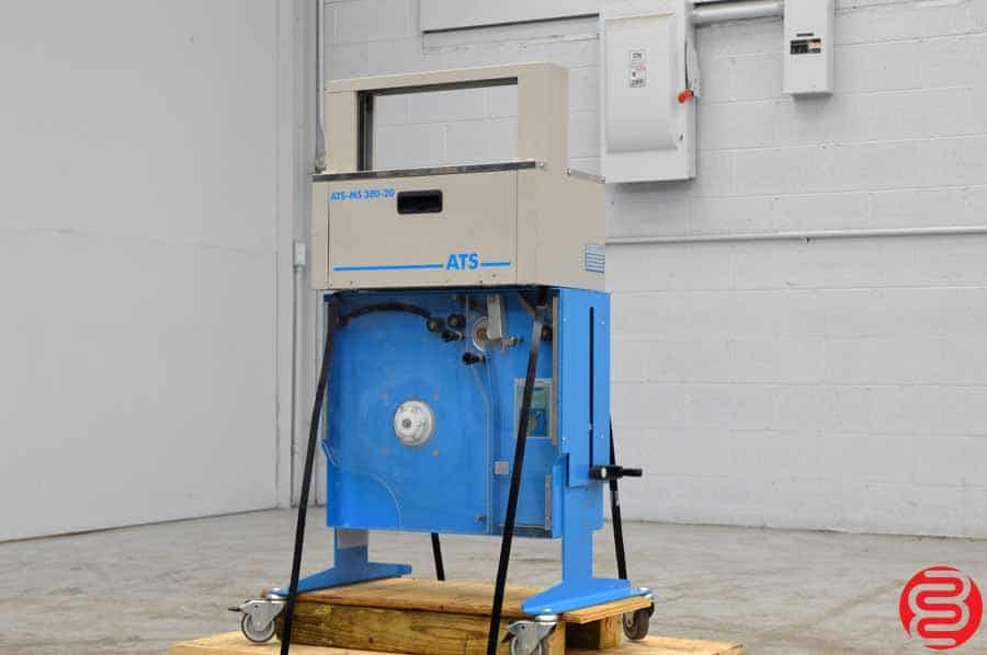 Wexler ATS-MS 380 20 mm Banding Machine w/ Jumbo Dispenser Stand