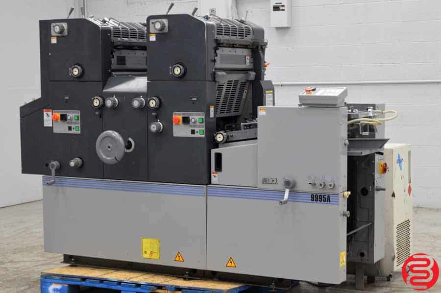 AB Dick (Ryobi) 9995A Two Color Offset Press