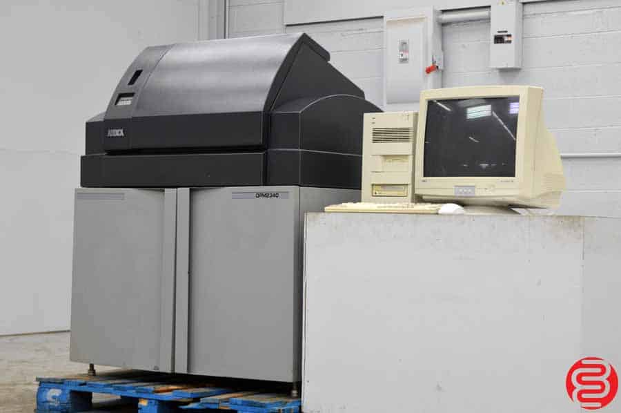 2001 AB Dick Digital Platemaster 2340 Computer to Plate System w/ Rip Computer