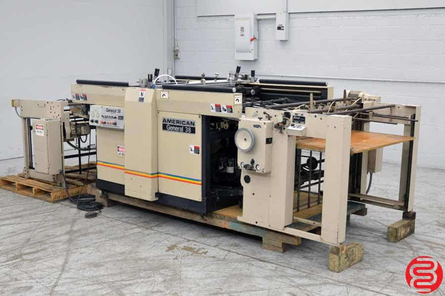 American General 38 Auto Feed Screen Printer