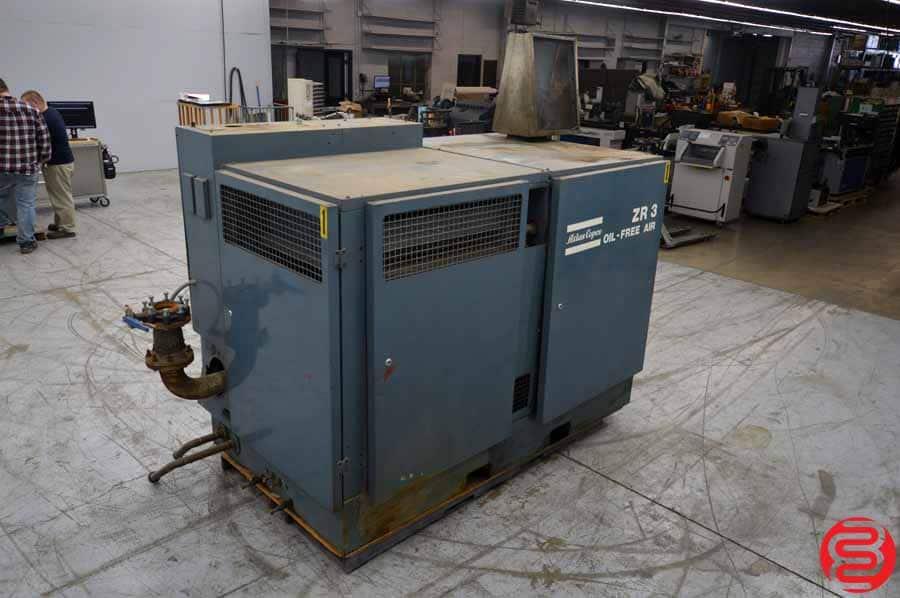 Atlas Copco ZR 3 Oil-Free Rotary Screw Air Compressor