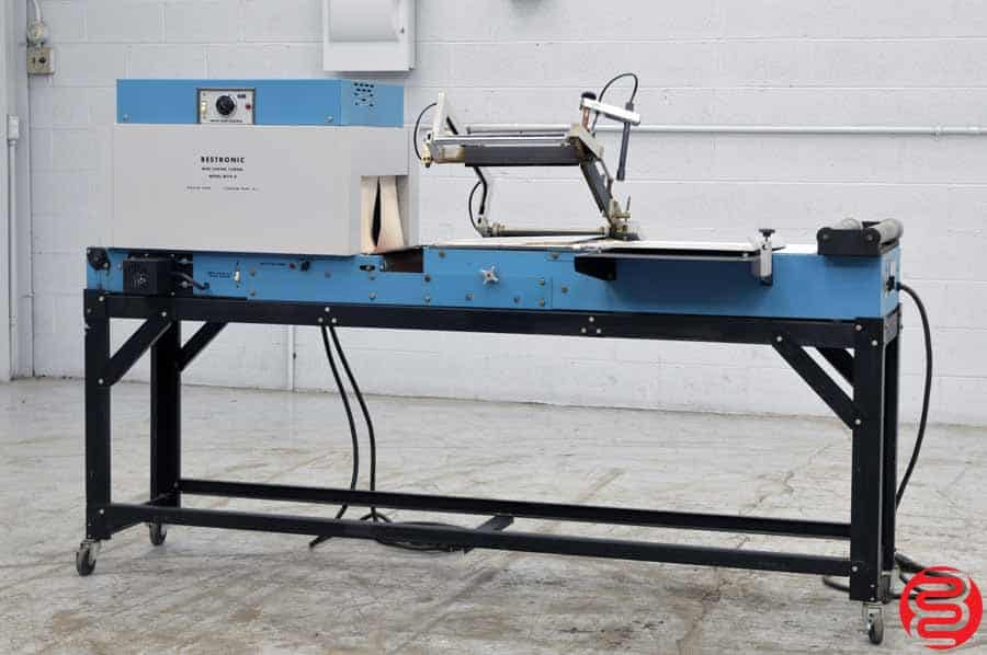 Bestronic MT14-8 Semi-Automatic Shrink Wrap System w/ Magnetic Hold Down
