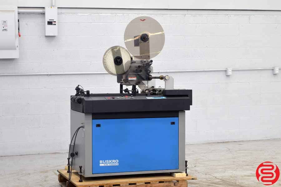 1999 Buskro BK 530 Tabbing System