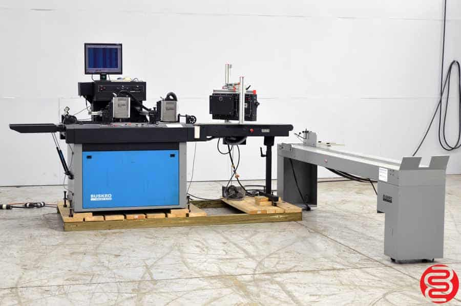 Buskro BK 700 Inkjet System w/ Compose IQ Software, Dryer, and Delivery Conveyor