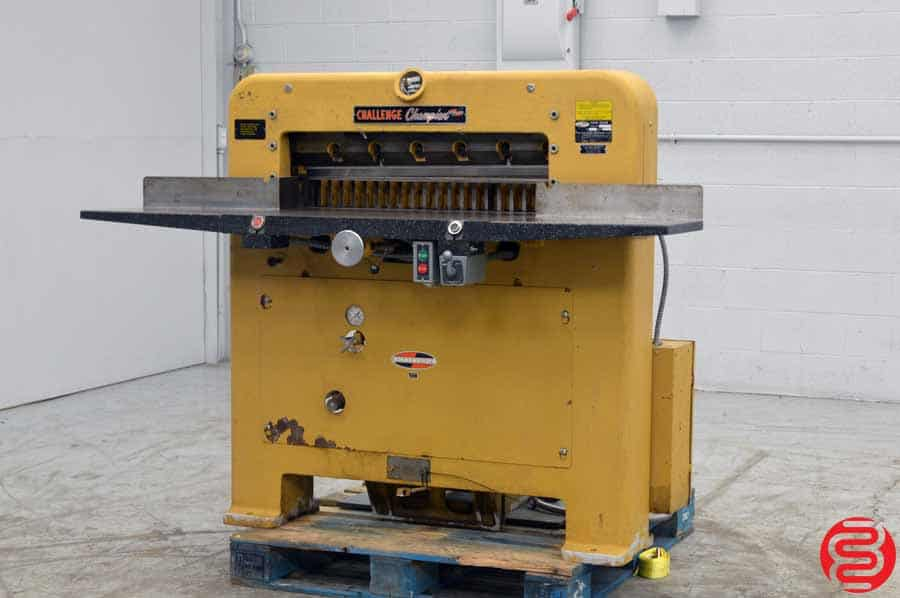 "Challenge 305 MCPB Hydraulic 30.5"" Paper Cutter"