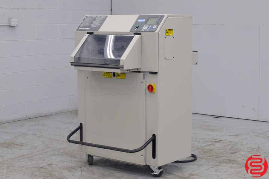 "Challenge Titan 200 20"" Programmable Hydraulic 20"" Paper Cutter w/ Tilt Shield and Safety Lights"