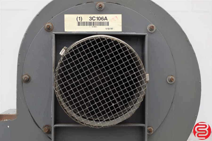 Dayton Industrial Fans And Blowers : Dayton c a quot industrial blower duct boggs equipment