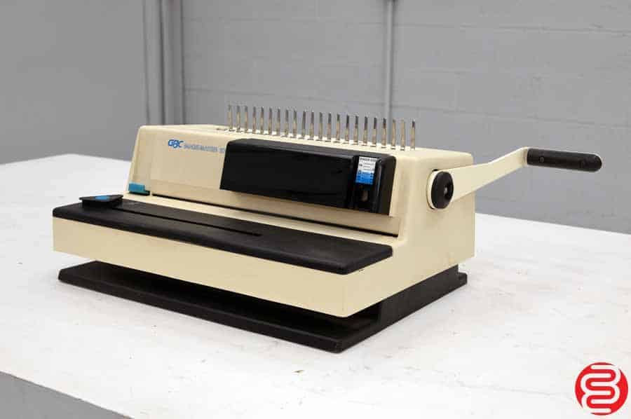 Gbc Image Maker 2000 Binding Machine on coil binding supplies