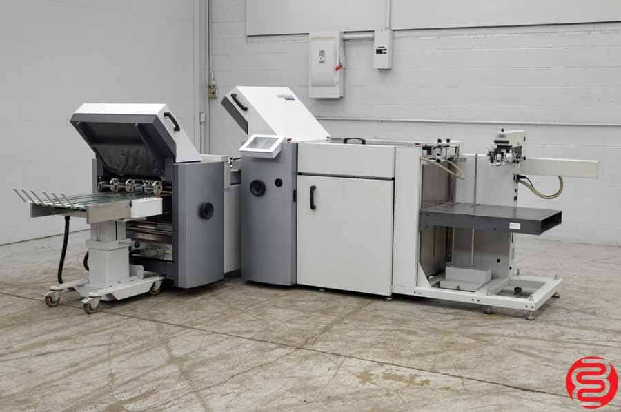 2006 Heidelberg Stahlfolder TA-52 Pile Feed Paper Folder w/ 8 Page Unit, Mobile Delivery Touch Screen and Sound Covers
