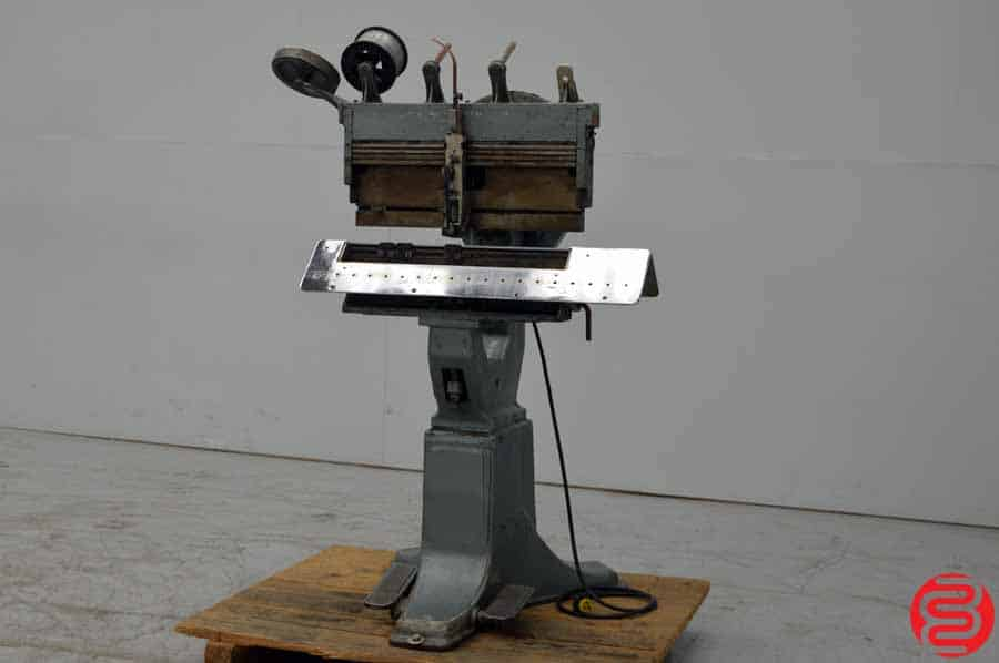 Interlake Model P Multiple Head Flat Book / Saddle Stitcher